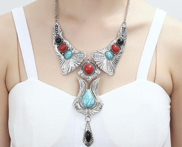 DREAM NATIVE ESTATE TURQUOISE CORAL STATEMENT SET