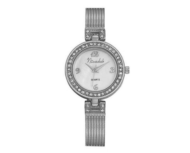 Novadab Zircon Studded Beautiful Analog Watch