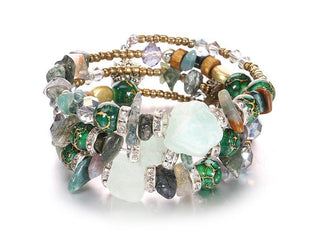 Crystal Collection Layered Bracelet Sale