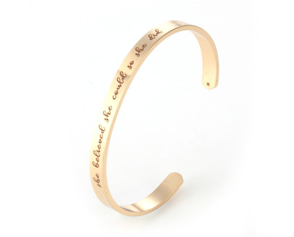 Special Message Bangle Sales