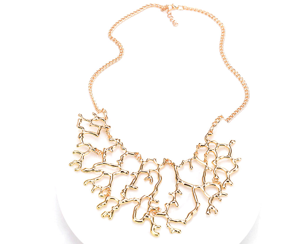 Epic Asymmetric structured Contemporary Necklace