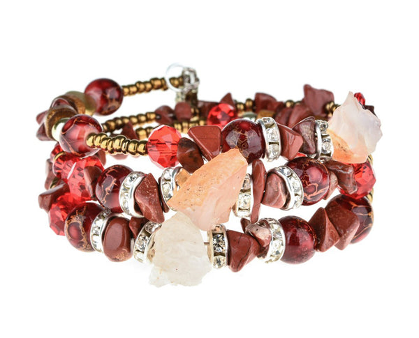 Crystal Collection Layered Bracelet
