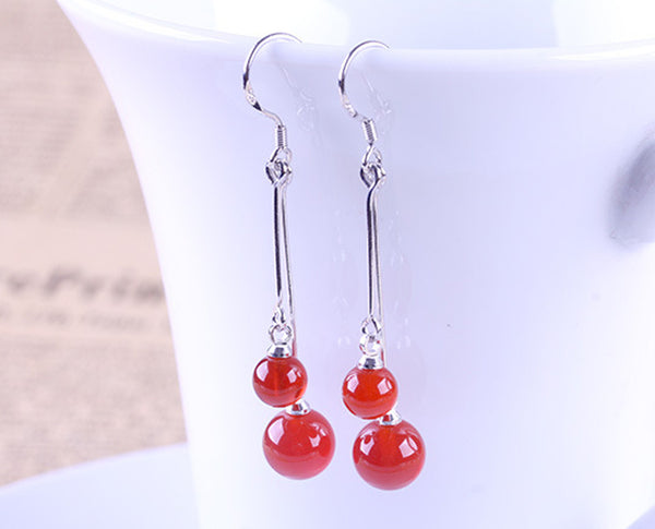 Charming Dual Swing Earrings