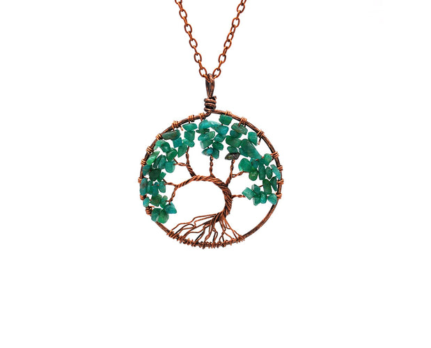 Energy from Nature Pendant Necklace