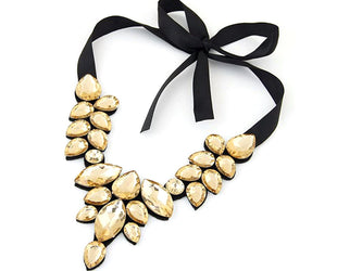 Exceptional Rhinestone Statement Necklace Sales