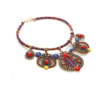 Dreamy Gypsy Mod Chic Statement Layer Necklace