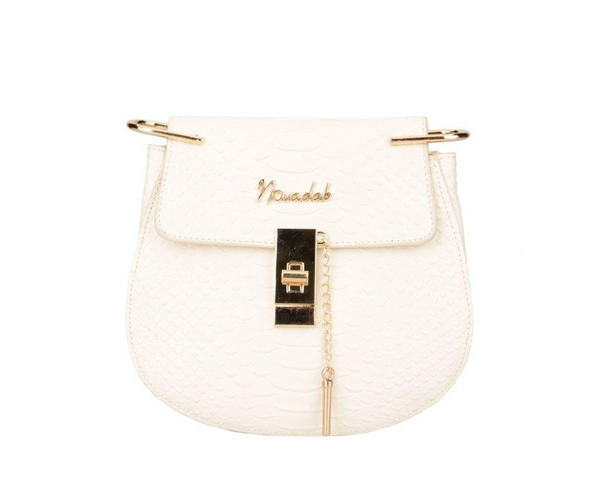 Embossed Cross Shoulder Bag