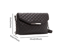 Quilted Clutch with Designer Chain Sales