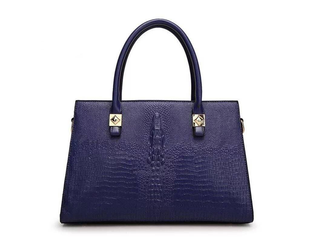 Novadab Croc Embossed Luxury Women Handbag