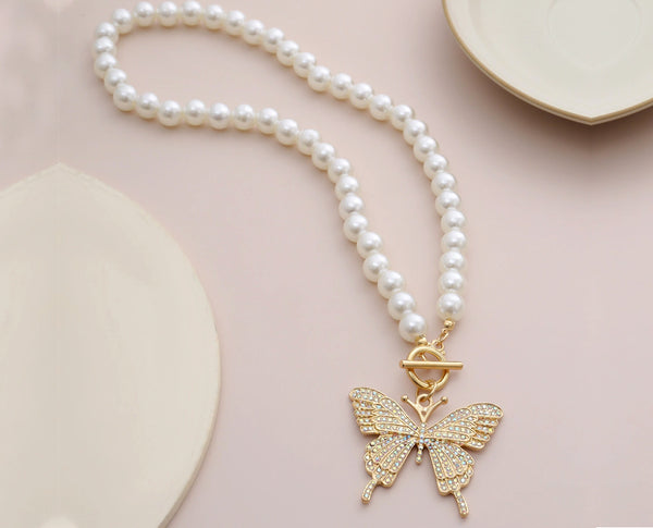 Bodacious Butterfly Necklace
