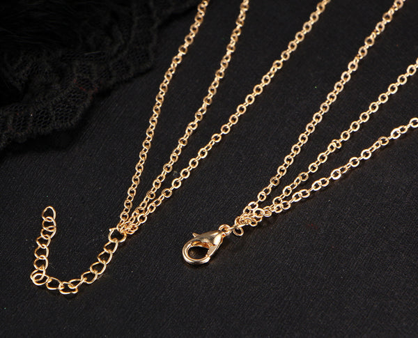 Multilayered Chain Necklace