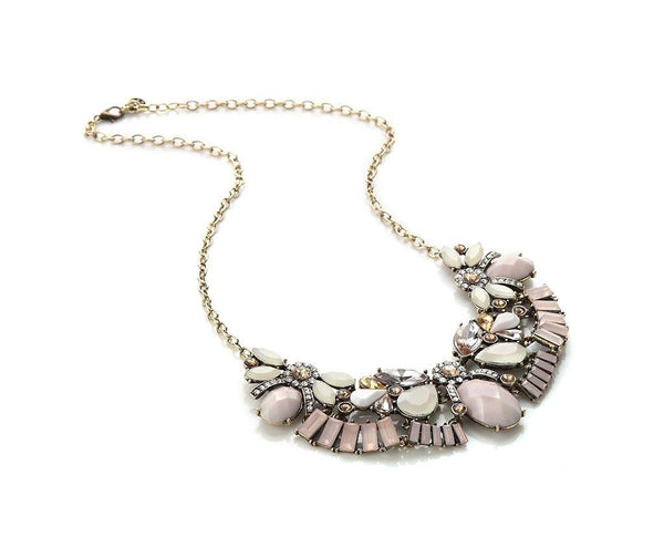 Cultured Crystal Costume Jewelry Neckpiece