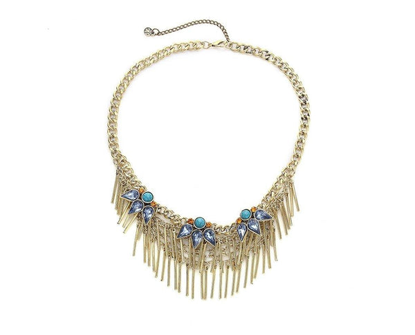 Elite Tribal-inspired Vintage Tassel Necklace