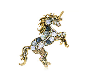 Juicy Jeweled Unicorn Pin