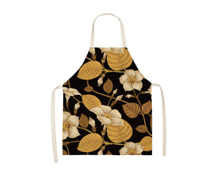 Gorgeous Gilded Floral Apron