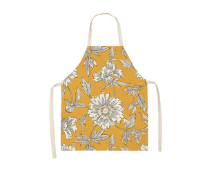Pretty Botanical Print Apron