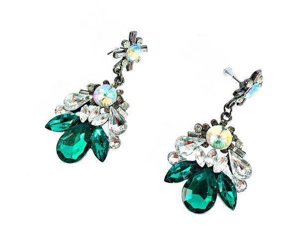 Bold Crystal Earrings