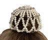 Glitzy Pearl Star Hair Accessory