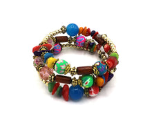 Holi Boho Multi Layer Beaded Bracelet
