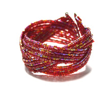 Brightly Twisted Beaded Bracelet