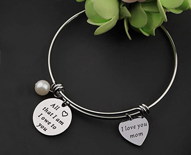 Mother Appreciation Silver Bangle