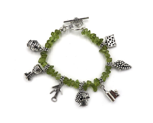 On Cloud Wine Charm Bracelet