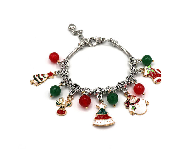 Oh So Bright Holiday Charm Bracelet