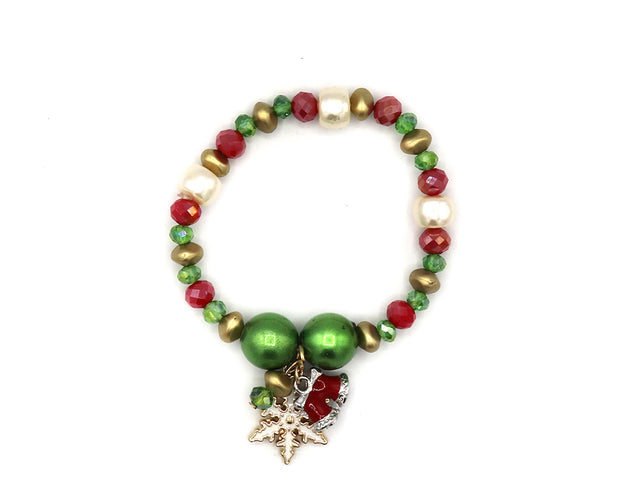 Tis The Season Colorful Bracelet