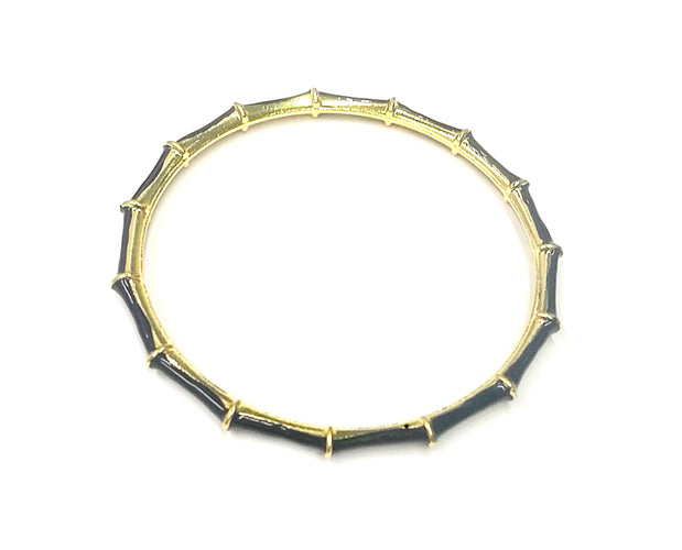 Golden Bamboo Bangle