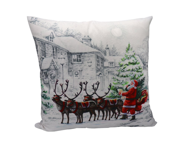 Vintage Style Christmas Pillow Covers