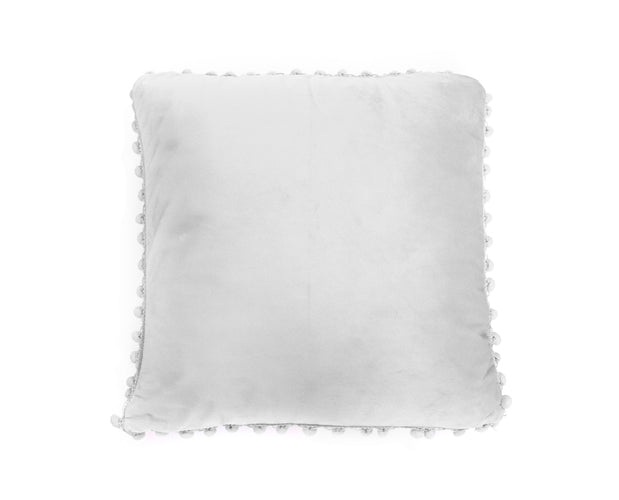 Pom Pom Edged Pillow Covers