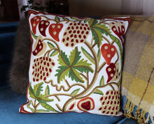 Stunning Crewel Pillow Covers