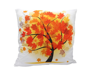 Falling Autumn Leaves Pillow Cover