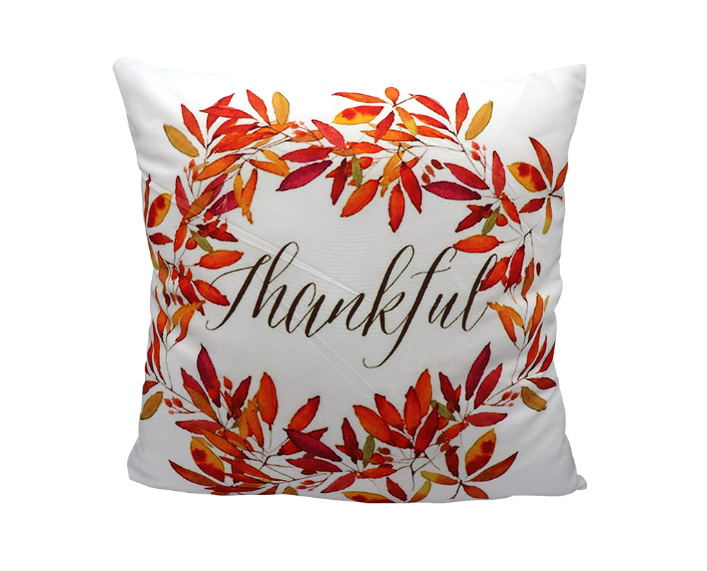 Be Thankful Pillow Cover