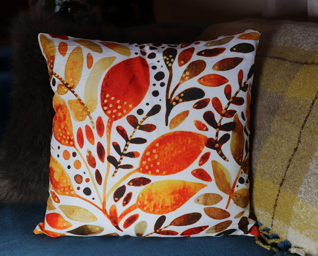 Brilliant Foliage Pillow Cover