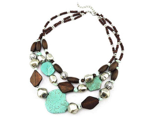 Multi-layer Chunky Boho Necklace