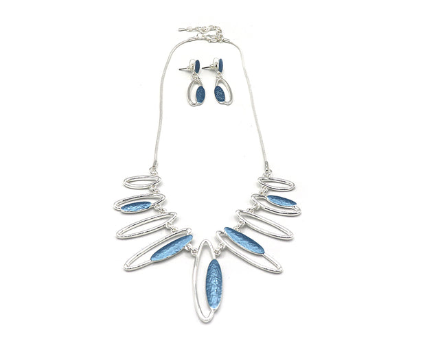 Eternal Ellipses Necklace Set