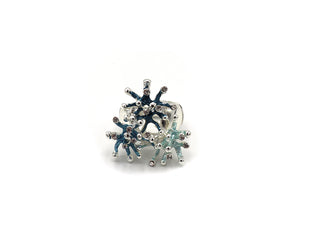 Sparkling Sea Urchins Ring