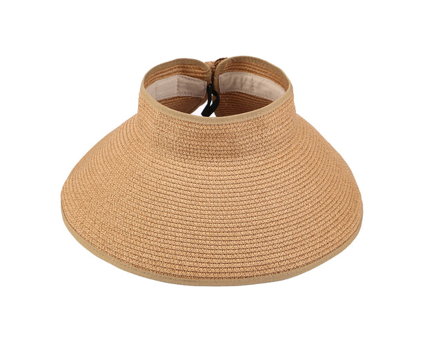 Foldable Brim Straw Hat