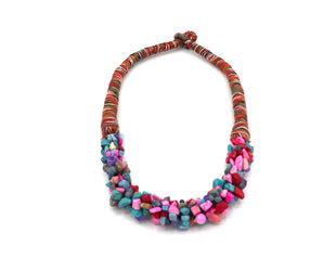 Multicolored Bohemian Necklace