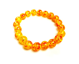 Mexican Fire Beaded Bracelet