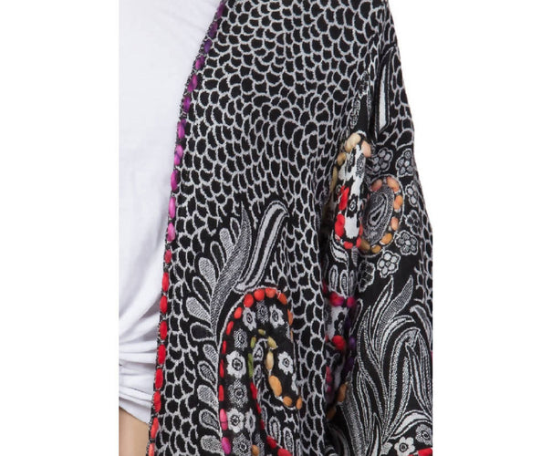 Raj Millie Thick Stitch Embroidered Duster