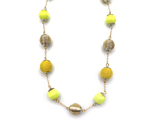 Buttercup Ball Necklace