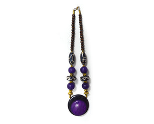 Boho Purple Dream Necklace