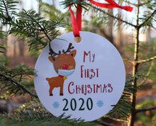 Year the World Changed Christmas Ornaments
