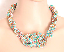 Colorful Braided Necklace