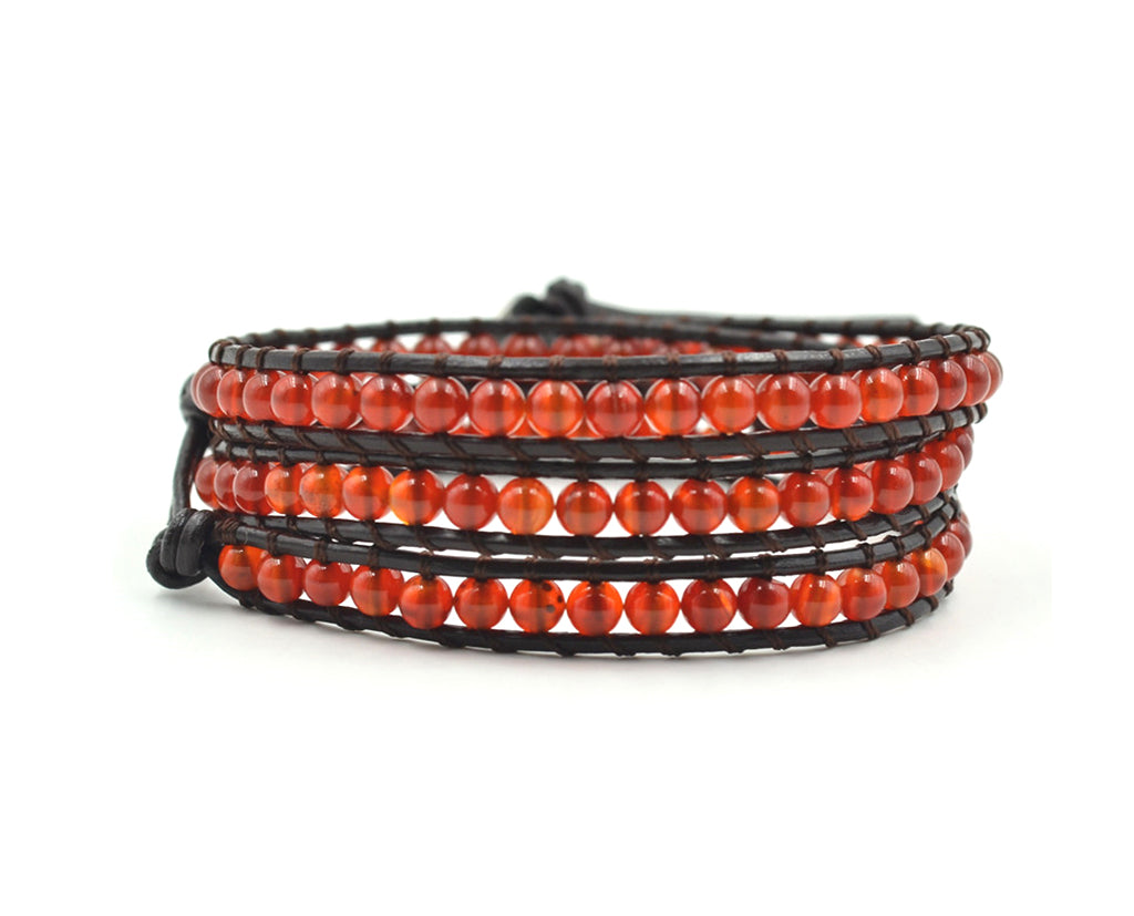 Tri Layered Beaded Bracelet