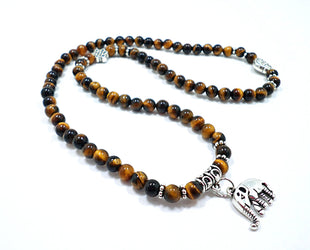 Tri-layered Beads with Elephant charm