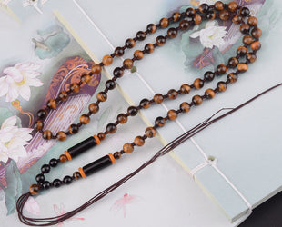 Tiger Eye Garland Necklace