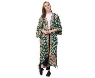 Raj Paityn Thickstitch Embroidered Duster